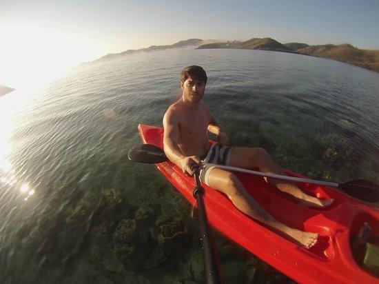 El Rio y Mar Resort: some kayakin...