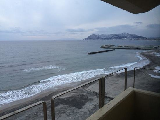 Wakamatsu Ryokan: view from room