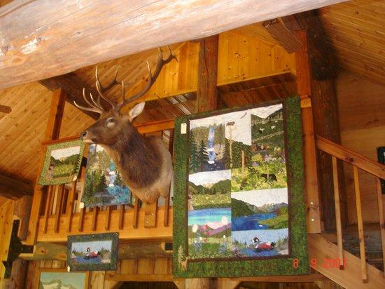 Stehekin Valley Ranch: ranch house decor