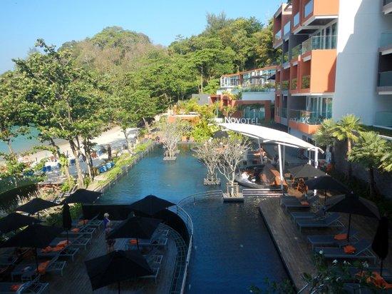 Novotel Phuket Kamala Beach : view of pool from room