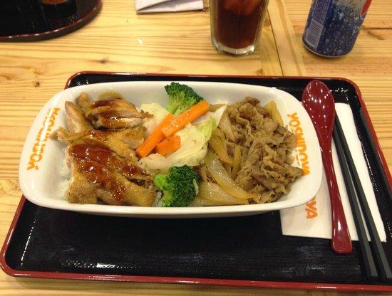 Yoshinoya: Combo meals
