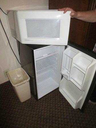 Rodeway Inn Barstow : Spotless microwave & fridge