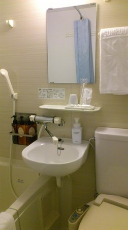 Hotel Sunroute Umeda : ユニットバス