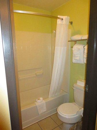 Days Inn & Suites East Flagstaff: Shower & tub