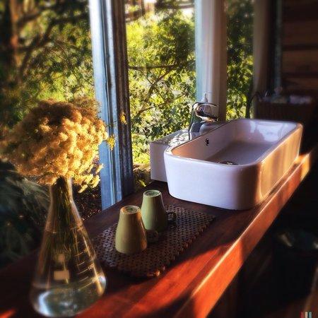 Sun Moon Lake Secret Garden Design Villas: 相思 的衛浴間