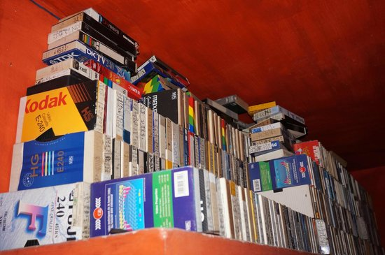 House of Arts: videos above my wardrobe :)