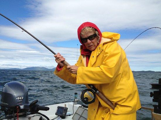 Rivers Inlet Sportsman's Club Ltd : Catching a 'Big One'