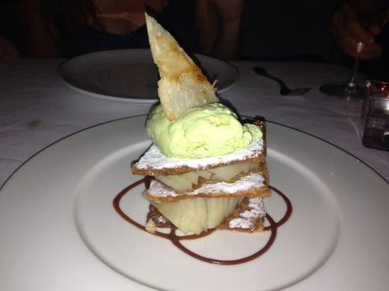 Les Cepages Restaurant: Dessert