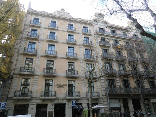 Hotel Constanza Barcelona: hotel outlook