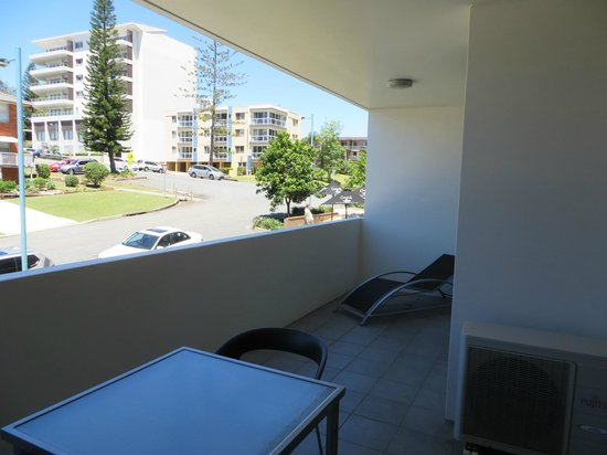 Macquarie Waters Hotel & Apartments: balcony