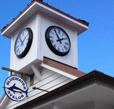 Bluewater Avalon Seafood Restaurant: Bluewater Clock Tower, You can't miss it!