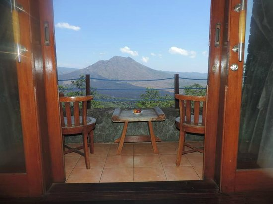 Lakeview Ecolodge: View from Deluxe room