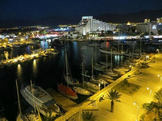 Dan Panorama Eilat : View from room 502-looking Northeast