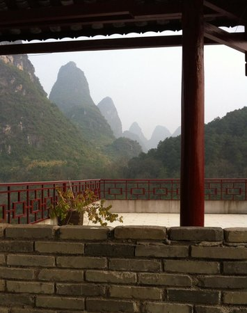 Li River Resort: Terrace