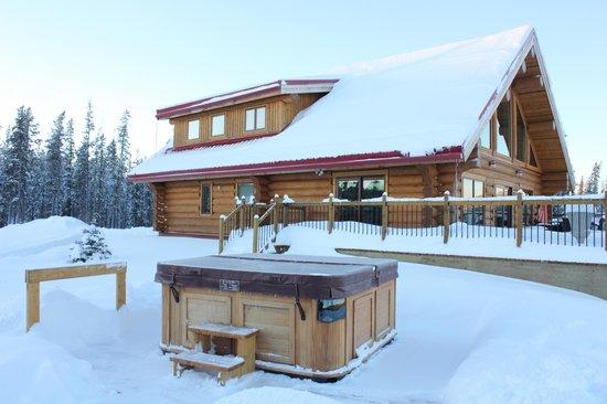 Northern Lights Resort & Spa: Main Lodge & Spa