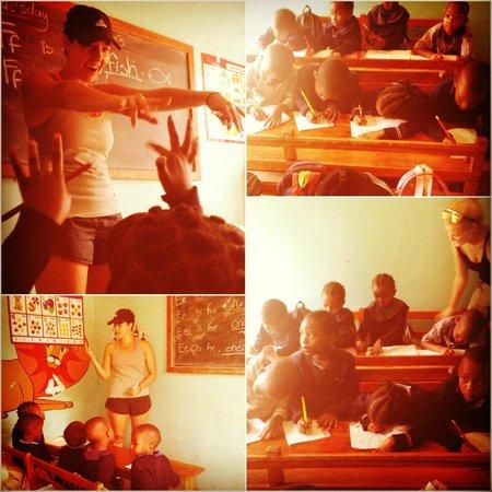 Ujamaa Hostel: Teaching at Meru View School