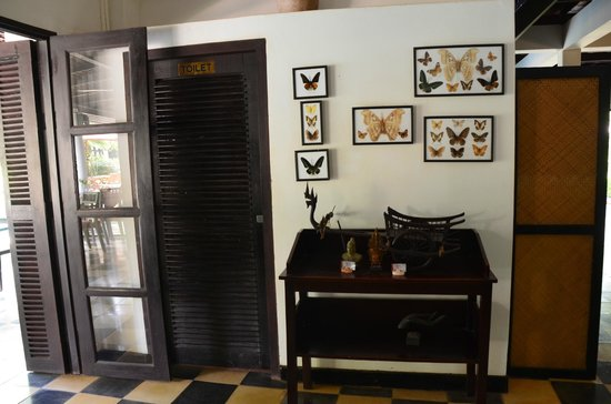 La Maison d'Angkor : Fly freely just like butterfly
