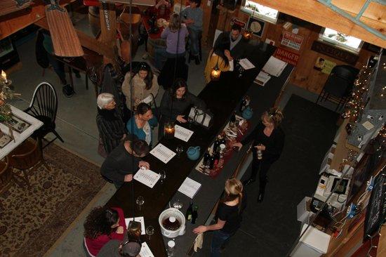 Hunters Run Winery: Tasting room
