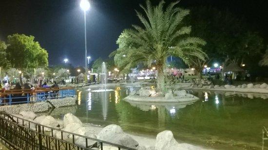 Seeb, Omán: park