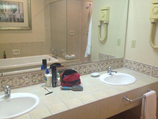 BEST WESTERN PLUS Richmond Inn & Suites-Baton Rouge : Nice vanity area