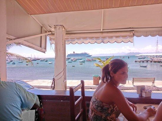 O Barco : Vista desde el restaurante