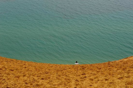 Sleeping Bear Dunes National Lakeshore : Lake Michigan,from the Dunes