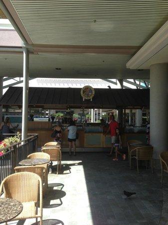 Ala Moana Center : よく利用するコーヒースタンド