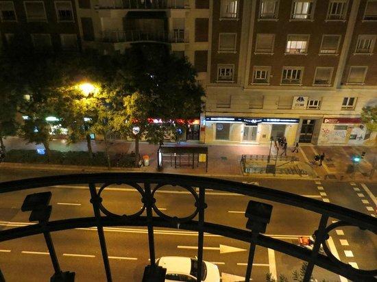 Innside Madrid Luchana: バルコニーからの眺め