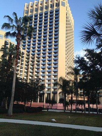 Hilton Orlando Buena Vista Palace Disney Springs : Exterior of Hotel