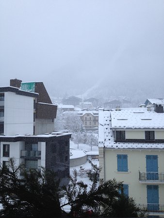 Grand Hotel des Alpes: View from window