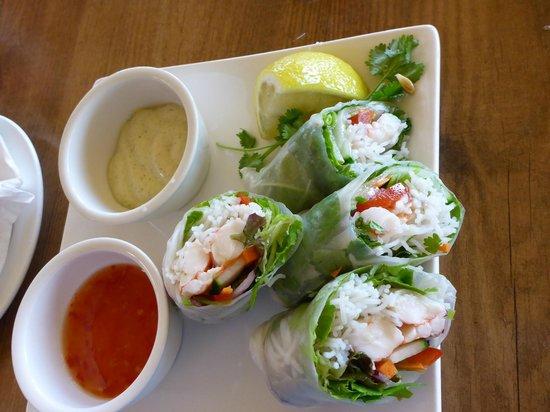 Marron Cafe : marron spring rolls