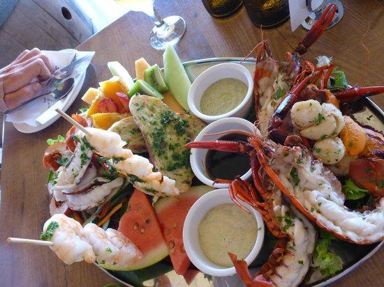 Marron Cafe : platter