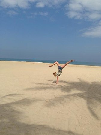 The Nam Hai Hoi An: the amazing beach!