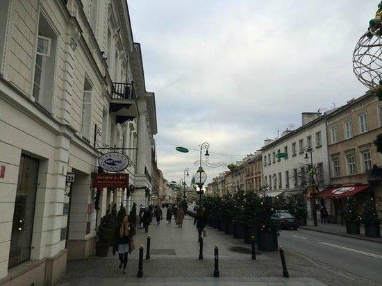 Варшава. Nowy Swiat.