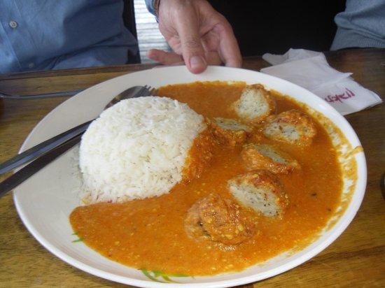 little india: Rice dish