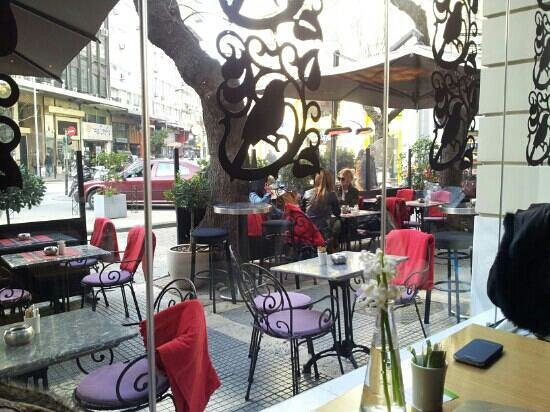 The Excelsior Bistro: outside..
