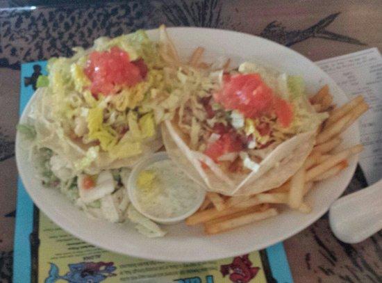 Paia Fish Market: Fish tacos