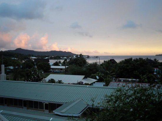 Sunset Hill Lodge: View from Bungalow On Stilts Accomodation