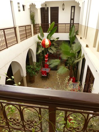 Riad Badi: The centre of the Riad - Christmas Time