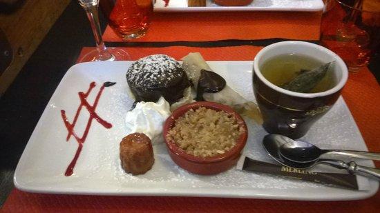 Le Lopain'Kess : Café ou thé gourmand : un des meilleurs de La Rochelle pour ne pas dire LE meilleur