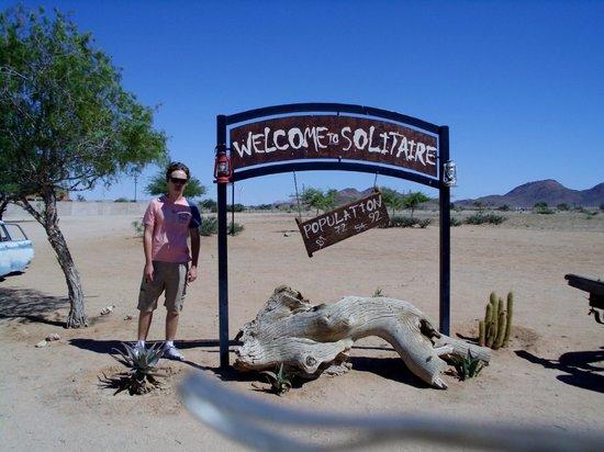 Solitaire bakery : Solitaire au coeur du désert Namibien
