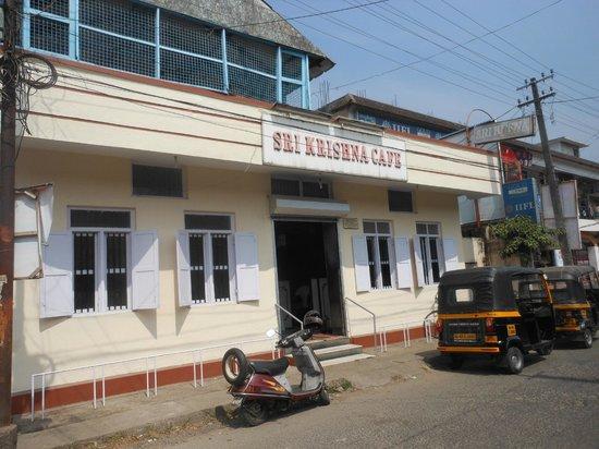 Sri Krishna Cafe : Entrata del ristorante
