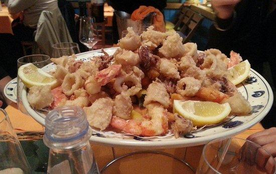 Lobs Fish Restaurant : frittura lob's