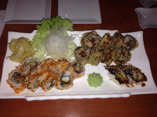 Surf & Sushi: Sushi.