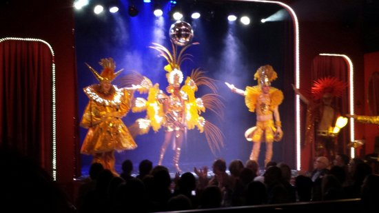 Le Canon d'Or : Spectacle