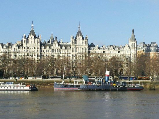 The Royal Horseguards: view from across the river