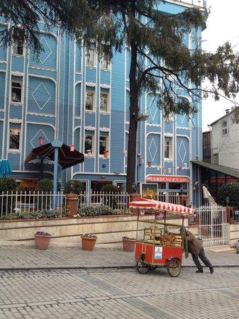 Blue House Hotel: blue house