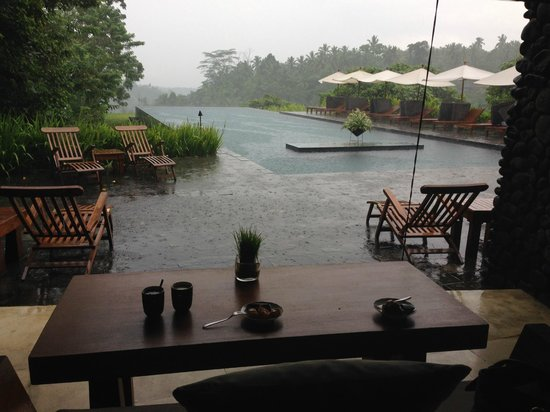 Alila Ubud: Beautiful even in the rain!