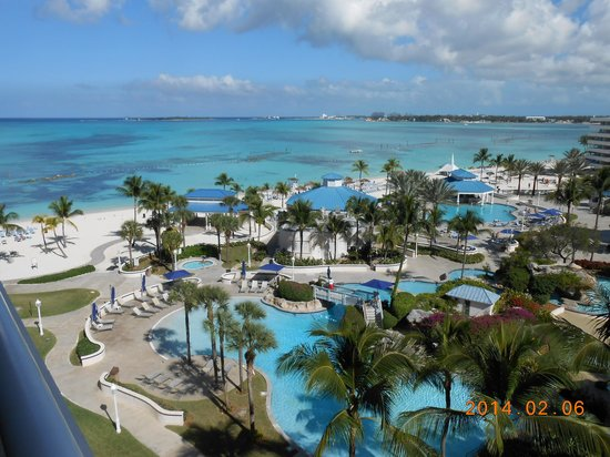 Melia Nassau Beach - All Inclusive: our room viewe