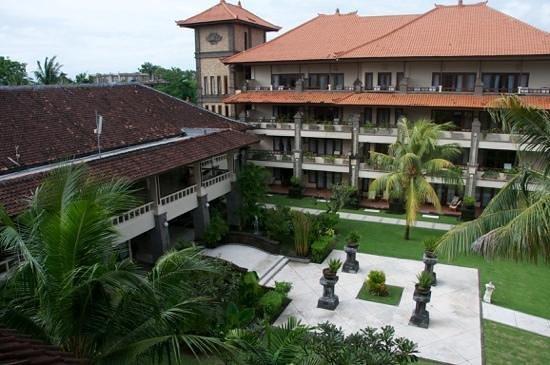 Peninsula Beach Resort Tanjung Benoa: View from the 3rd floor rooms